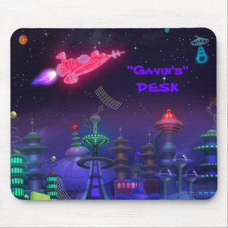 Personalized Space Mousepad