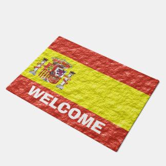 Personalized Spanish Flag Design Doormat