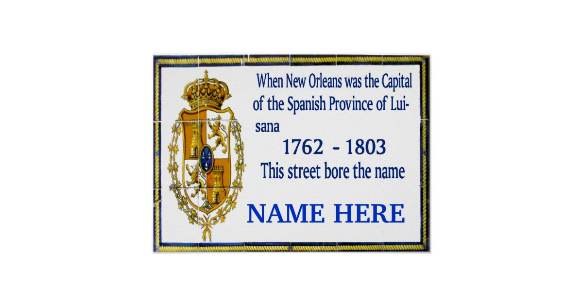 Personalized spanish mural poster zazzle for Poster mural 4 murs