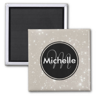 Personalized Sparkles in the Sky Fridge Magnet