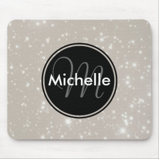 Personalized Sparkles in the Sky Mouse Pad