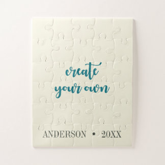 Personalized Special Create Your Own Custom Jigsaw Puzzle