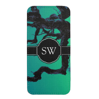Personalized Spooky Branch iPhone 5S Phone Pouch