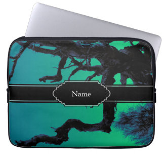Personalized Spooky Branch Shadows Laptop Computer Sleeves