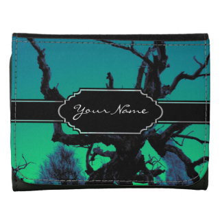 Personalized Spooky Branch Shadows Wallets
