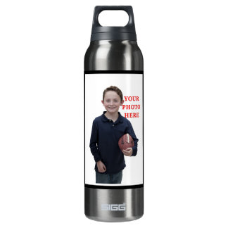 Personalized Sports 16 Oz Insulated SIGG Thermos Water Bottle