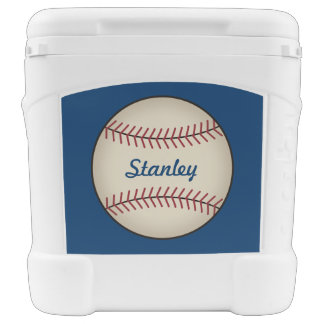 Personalized Sports Baseball Cooler
