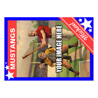 Personalized Sports Card Large Business Cards (Pack Of 100)