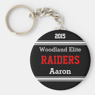 Personalized Sports Keychains YOUR TEXT, COLORS