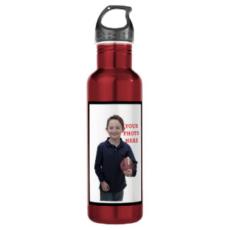 Personalized Sports Stainless Steel Water Bottle