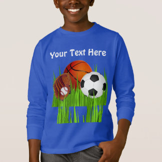 PERSONALIZED Sports Sweatshirts for Boys