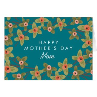 Personalized | Spring Buds Mother's Day Card