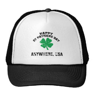 Personalized St Patrick's Day Trucker Hats