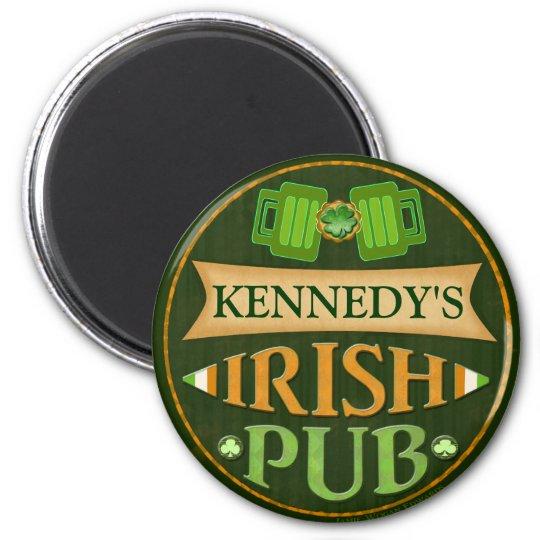 Personalized St. Patrick's Day Irish Pub Magnet