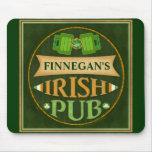 Personalized St. Patrick's Day Irish Pub Mouse Pad