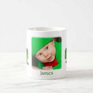 Personalized St. Patricks Day Mug Add Photo