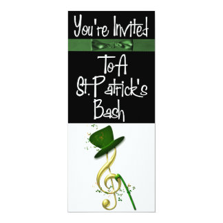 Personalized St. Patrick's Day Party Invitation