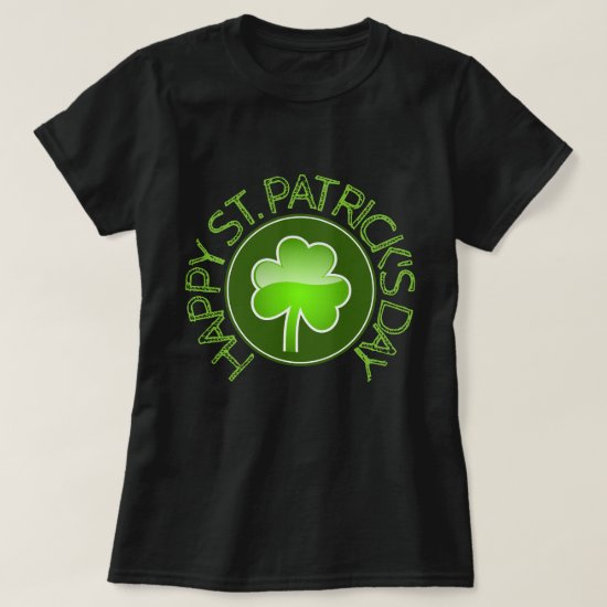 Personalized St. Patrick's Day Shamrock Shirt