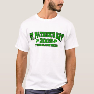 Personalized St. Patrick's Day T-Shirt