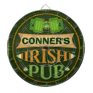 Personalized St. Patrick's Irish Pub Dart Board