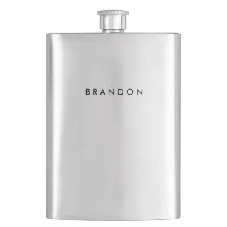 Personalized Stainless Steel Flask For Men