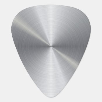 Personalized Stainless Steel Metallic Radial 2 Guitar Pick by electrosky at Zazzle