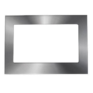 Personalized Stainless Steel Metallic Radial Look Magnetic Frame