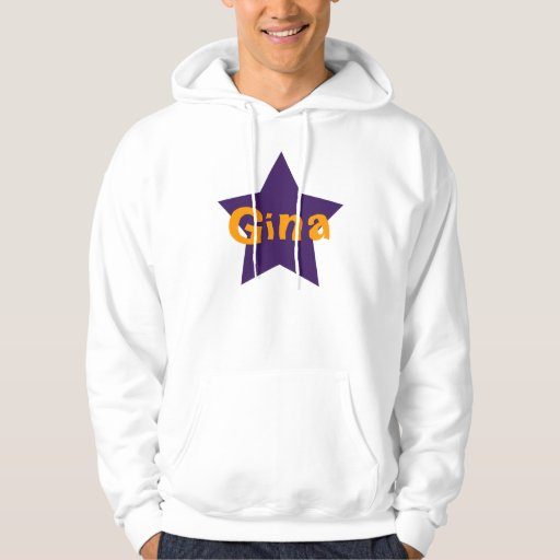 Personalized Star Hoodie