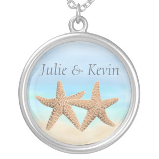 Personalized Starfish Necklace
