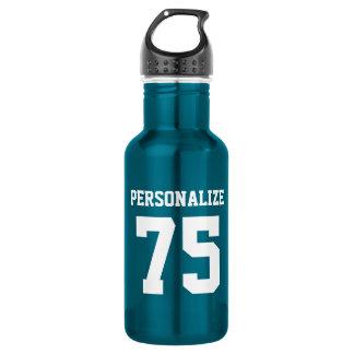 Personalized steel water bottles for sports teams 18oz water bottle