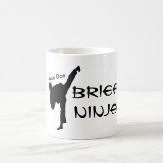 Personalized Steno Brief Ninja Court Reporting Coffee Mug