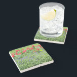 """Personalized Stone Coaster<br><div class=""""desc"""">Personalized photo marble stone coaster. Replace the template image with your own photo to create a unique gift</div>"""