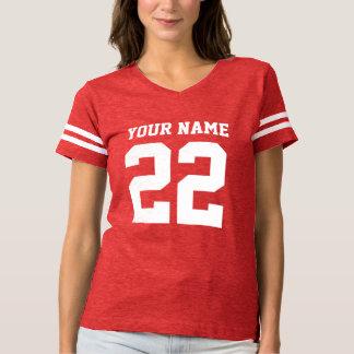 Personalized striped womens football jersey shirts