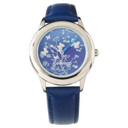 Personalized Stylish Butterflies Summer Evening Wristwatches
