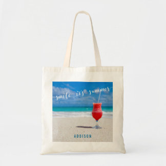Personalized Summer Tote Bags