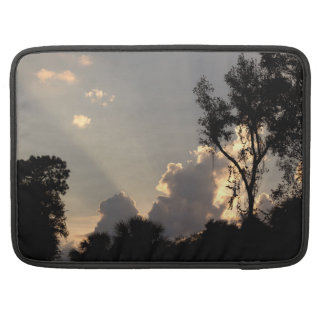 Personalized Sun Rays at Sunset MacBook Pro Sleeve