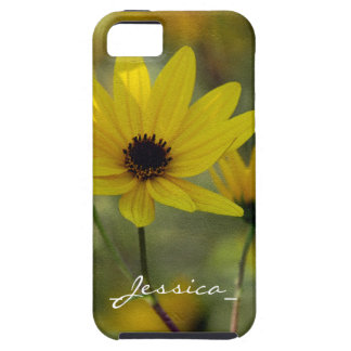 Personalized Sunflower Case-Mate Tough™ iPhone 5 C iPhone SE/5/5s Case