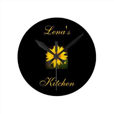Sunflower Wall Clock | Zazzle.com