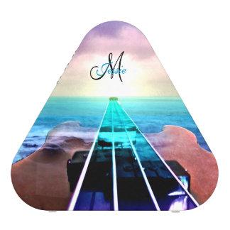 Personalized Sunset Bass Guitar Bluetooth Speaker