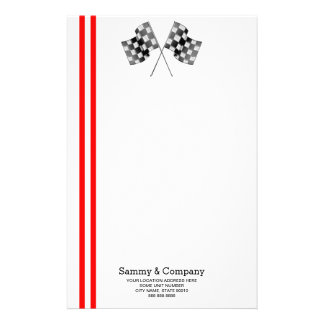 Personalized Supercharged Performance Party Stationery