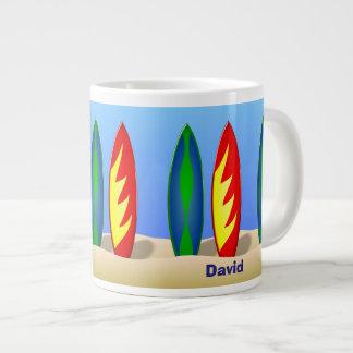 Personalized Surfer Dude Coffee Mug