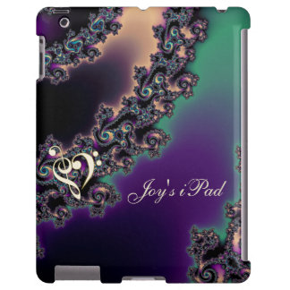 Personalized Sweeping Fractal iPad Case