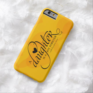 Personalized Sweet Gifts for Daughter Barely There iPhone 6 Case