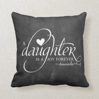 Personalized Sweet Gifts for Daughter Pillows