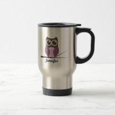 Personalized Sweet Owl Mug at Zazzle