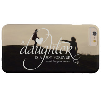 Personalized Sweet Photo Gifts for Daughter Barely There iPhone 6 Plus Case
