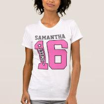 Personalized Sweet Sixteen Shirt