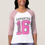 Personalized Sweet Sixteen Shirt
