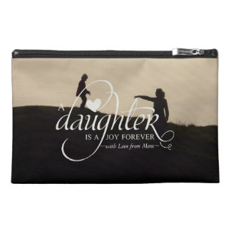 Personalized Sweet Your Photo Gift for Daughter Travel Accessory Bag