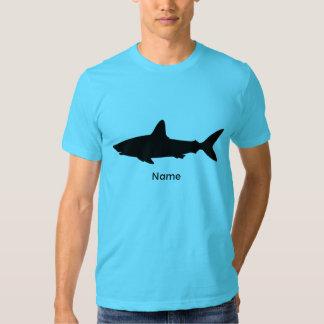 Personalized Swimming Shark Shirt